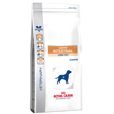 Лечебный сухой корм для собак Royal Canin Gastro Intestinal Low Fat Canine 12 кг (047440)