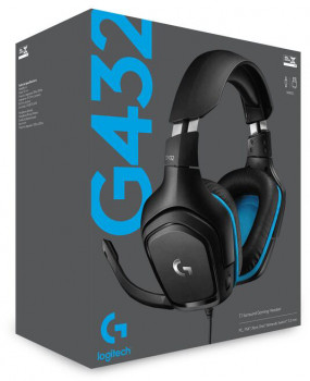 Навушники Logitech Wired Gaming Headset G432 Black (981-000770)