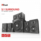 Акустика Trust Vigor 5,1 Surround Speaker System Black - зображення 4