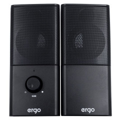Мультимедийная акустика ERGO S-08 USB 2.0 Black