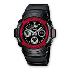 Мужские часы Casio G-Shock AW-591-4AER Red Оригинал