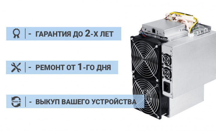 Asic Bitmain Antminer S15 28 TH/s SHA-256 + БП - изображение 1