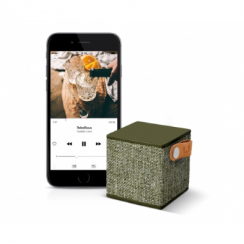 Портативна акустика Fresh 'N Rebel Rockbox Cube Fabriq Edition Bluetooth Speaker Army (1RB1000AR)