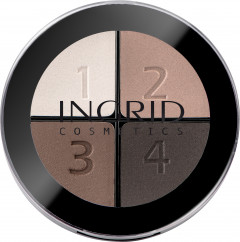 Тени для век Ingrid Smoky Eyes 118 4 цвета 7 г (5907619824001)