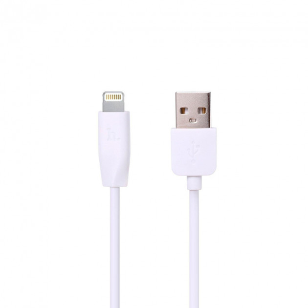 Кабель USB Hoco X1 Rapid iPhone Lightning White 3m