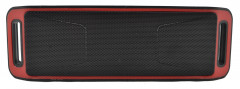 Портативная колонка Bluetooth Noisy 208B MP3 Black-Red (hub_np2_1473)