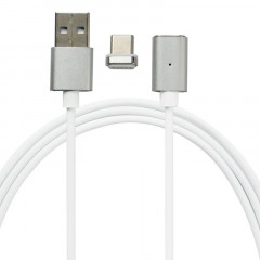 Кабель Mocolo SJX025 magnetic cable For Micro 1M Silver