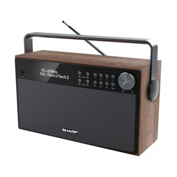 SHARP Stereo Portable Bluetooth DAB Radio (DR-P355)