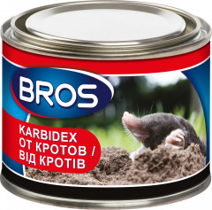 Средство Bros Karbidex от кротов 500 г (5904517188259)