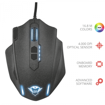 Миша Trust GXT 4155 Hyve Gaming Mouse