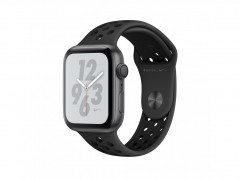 Смарт-часы Apple Watch Nike+ Series 4 GPS 40mm Space Gray Aluminum Case with Anthracite/Black Nike Sport Band (MU6J2)