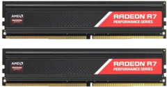 Оперативная память AMD DDR4-2400 8192MB PC4-19200 (Kit of 2x4096) R7 Performance Series (R7S48G2400U1K)