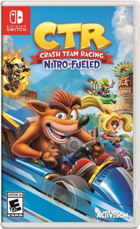 Crash Team Racing (Nintendo Switch, английская версия)