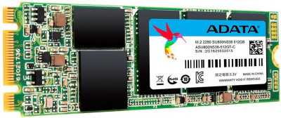 Накопичувач SSD M. 2 512GB A-Data SU800 (ASU800NS38-512GT-C)