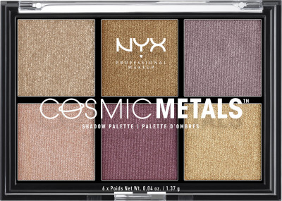 Палітра тіней NYX Professional Makeup Cosmic Metal Shadow Palette 01 22 г (800897093228)