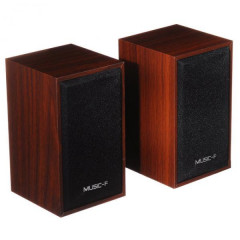 Компьютерные колонки Speaker Music-F D9A Brown CH190912