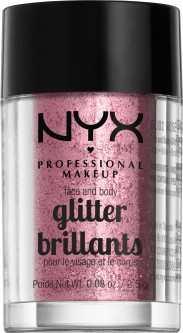 Глиттер NYX Professional Makeup Face & Body Glitter 02 Rose 2.5 г (800897846749)