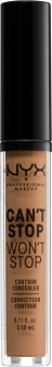 Консилер для лица NYX Professional Makeup Can`t Stop Won`t Stop Concealer 12.7 Neutral Tan 3.5 мл (800897168650)