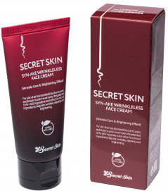 Крем для лица с пептидом змеиного яда Secret Skin Syn-Ake Wrinkleless Face Cream 50 г (8809540514464)