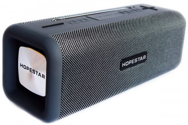 Бездротова портативна стерео колонка Hopestar T9 c Bluetooth, USB, FM і MicroSD - зображення 1