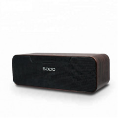 Беспроводная Bluetooth колонка SODO L4-LIFE Original Dark Wood