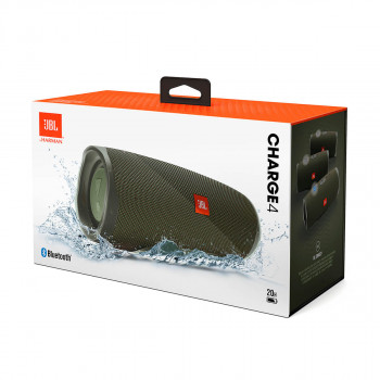 Акустика JBL Charge 4 Green (JBLCHARGE4GRN)