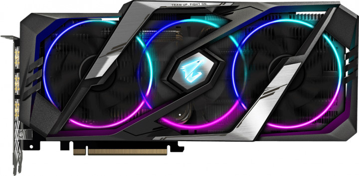 Gigabyte PCI-Ex GeForce RTX 2080 Super Aorus 8GB GDDR6 (256bit) (15500) (Type-C, 3 x HDMI, 3 x Display Port) (GV-N208SAORUS-8GC)
