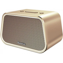 Портативная акустика Baseus E02 Encok Multi-functional wireless speaker Gold