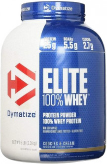 Протеин Dymatize Nutrition Elite Whey 2.27 кг Cookies & Cream (705016560110)