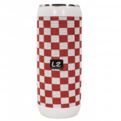 Портативная Bluetooth колонка LZ M118 Red-White (2961-8347)