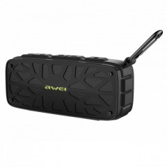 Портативная bluetooth колонка Awei Y330 Bluetooth 4.2 Black (112540)