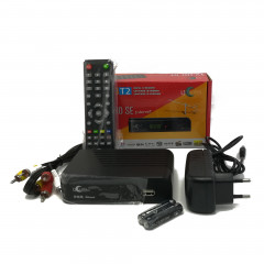 ТВ-ресивер UCLan T2 HD SE INTERNET PVR Display