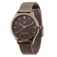 Женские часы Andywatch Universe Antique Brown AWbronse1