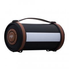 Bluetooth Speaker Cigii S22C Led Black Brown (21967)