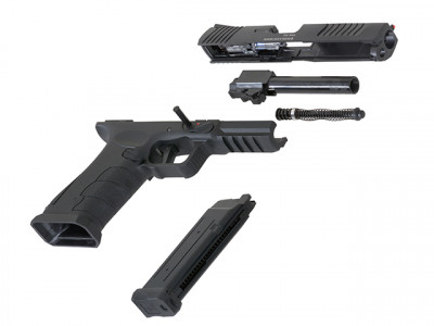 Пістолет APS SHARK Full Auto CO2 Black (Страйкбол 6мм)