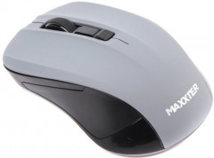 Мышь Maxxter Mr-337-Gr Wireless Gray