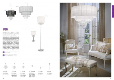 Бра Ideal Lux 122588 Opera