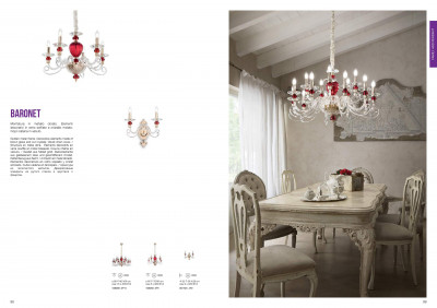 Бра Ideal Lux 081748 BARONET