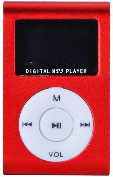 TOTO TPS-02 With display&Earphone Mp3 Red