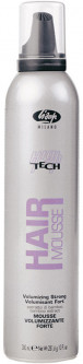 Пена-мусс Lisap High Tech Mousse Volumizing Strong 300 мл (1708740000012)