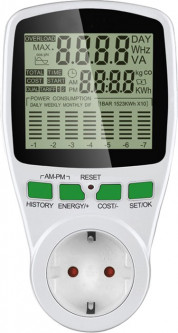 Ваттметр Protech Power Meter Cat 2 (PP-3455)