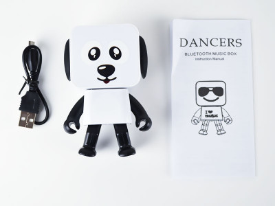 Колонка MOB Dancing Dog Bluetooth Speaker White