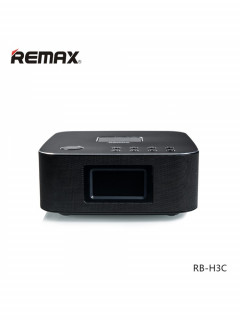 Bluetooth Колонка Remax RB-H3 3 in 1 BT3.0 Speaker with Alarm Clock Black
