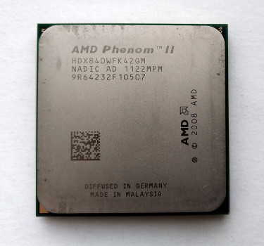 Процесор AMD Phenom II X4 840 3,2 GHz sAM3 Tray 95w (HDX840WFK42GM) Propus Б/У