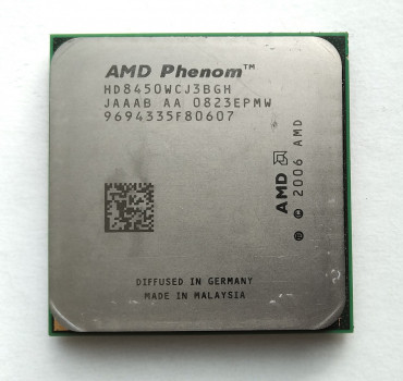 Процесор AMD Phenom X3 8450 2,1 GHz sAM2+ Tray (HD8450WCJ3BGH) Toliman Б/У