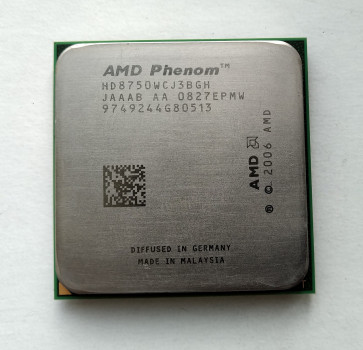 Процессор AMD Phenom X3 8750 2,4GHz sAM2+ Tray (HD8750WCJ3BGH) Toliman Б/У