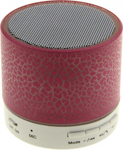 Портативная акустика TOTO A9 Shine Big Size Bluetooth Speaker Pink