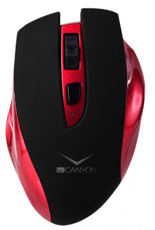 Мышь Canyon CNS-CMSW7R Wireless Black/Red