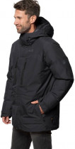 Пуховик Jack Wolfskin North Ice Parka M 1111681-6000 XXL Черный (4060477270241) - изображение 1