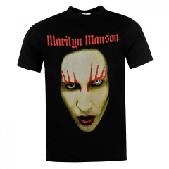 Футболка Official Marilyn Manson Big Face, S (10098310)